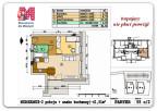 41,51 m2 – Rzeszów – Wieniawskiego – 2 pokoje – parter