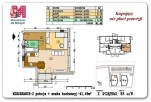 41,49 m2 – RZESZÓW – WIENIAWSKIEGO – 2 POKOJE – I PIĘTRO