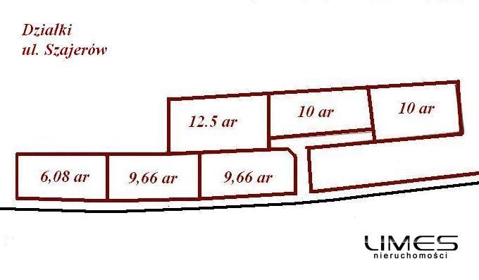RZESZÓW Słocina – 12.5 ar – działka budowlana z WZ