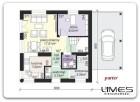 NOWY BOREK – 80,28 m2 – WS – dom do wykończenia