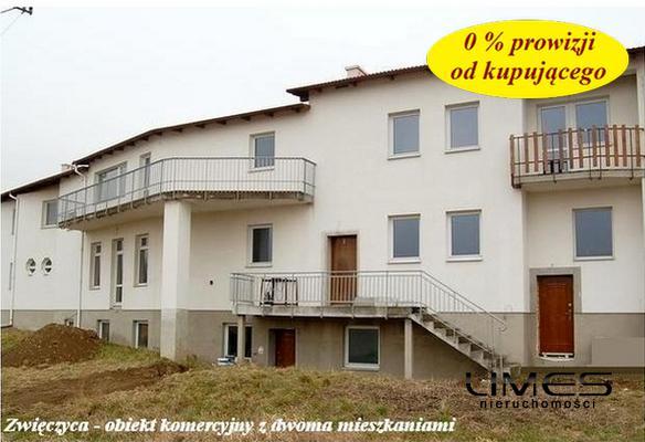 RZESZÓW Zwięczyca – 900 m2 – budynek usługowo – mieszkalny