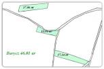 BARYCZ – 46,01 ar – 3 działki rekreacyjne