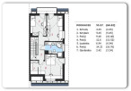GŁOGÓW NIWA – 96,92 m2 – dom – zab. bliźniacza – surowy zamknięty