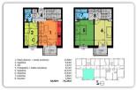 75,25 m2 – Rzeszów Biała – mieszkanie II poziomowe – 4 pokoje
