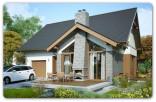STRAŻÓW – 119,8 m2 – WS – dom w stanie surowym otwartym