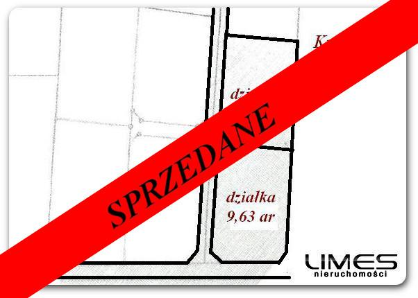 KRASNE – 9.67ar – budowlana z WZ – 12 500zł/ar