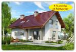 TYCZYN – 134 m2 – dom na widokowej działce