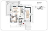 TYCZYN – 98,53 m2 – DOM DO ZAMIESZKANIA W PEŁNI WYPOSAŻONY