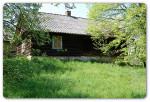 Straszydle – 123,50 ar – działki z domem z bali