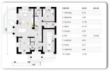 Matysówka – 164,30 m2- stan surowy zamknięty