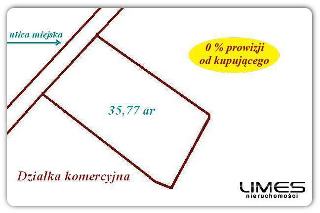 Rzeszów – os. Dąbrowskiego – 35,77 ar- inwestycyjna
