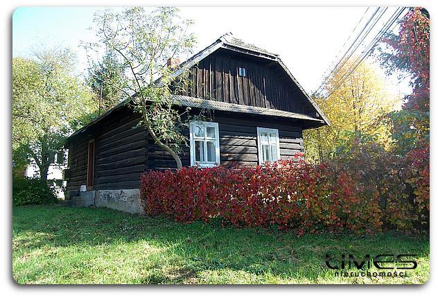 Siedliska– 12 ar – działka z domem z bali