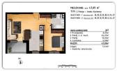 Rzeszów Przybyszówka – Apartamenty Zachód – 47,09 m2 -2 pokoje