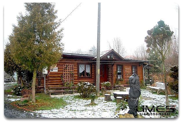 KIELNAROWA – 24 ar – działka z domem drewnianym
