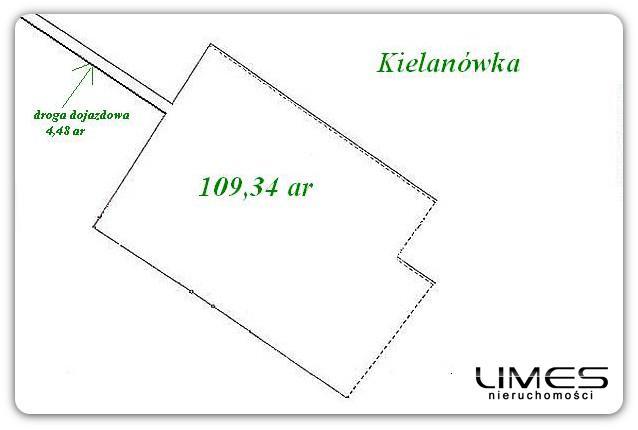 Kielanówka – 109,34 ar – inwestycyjna