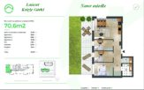 70,60 m2 – Łańcut – 4 pokoje – stan deweloperski