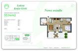 53,14 m2 – Łańcut – 3 pokoje – stan deweloperski