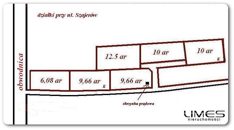 RZESZÓW Słocina – 9.66 ar – działka budowlana