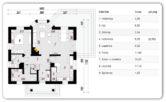 KLĘCZANY-128,38 m2- stan surowy zamknięty