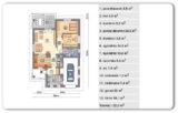 Blizne – 81,80 m2 – stan surowy zamknięty