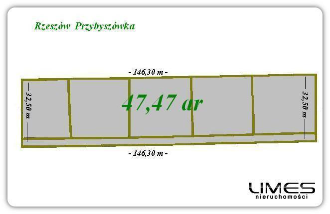 47,47 ar – działka budowlana z MPZP