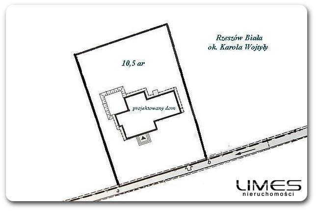 10,5 ar – Rzeszów Biała – pozwolenie na budowę