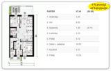 67,40 m2 – Tyczyn – 3 pokoje – stan deweloperski