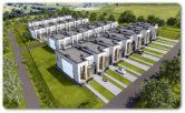 136,85 m2 – Rzeszów Biała – zab. szeregowa środkowa – podwyższony stan surowy zamknięty