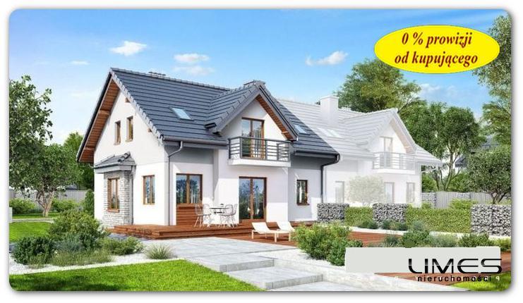 111,70 m2 – Rzeszów Staroniwa – zabudowa bliźniacza – stan surowy zamknięty