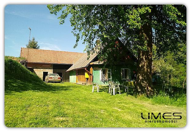 Nowy Borek – 60 m2 – dom drewniany na działce 45 ar