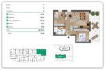 58,39 m2 – Łańcut – 3 pokoje – stan deweloperski