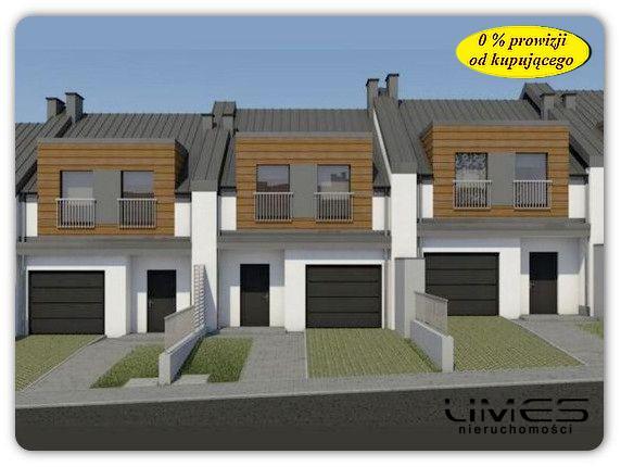 Słocina – 114,35 m2 pow. użytkowej – zabudowa szeregowa środkowa
