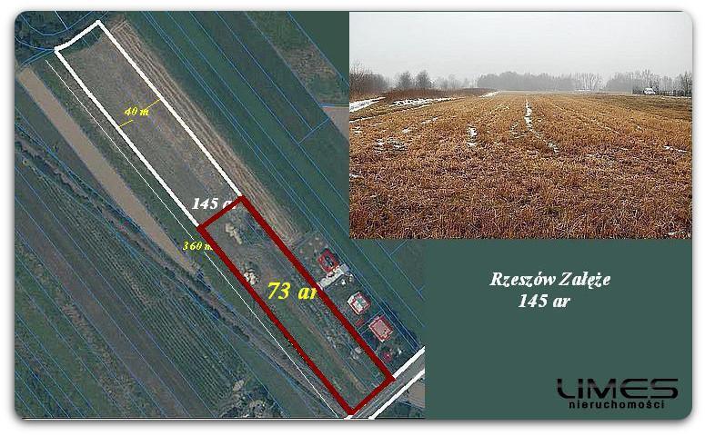 Rzeszów Załęże – 73 ar – działka inwestycyjna